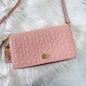 Coach Signature Dinky Crossbody Clutch